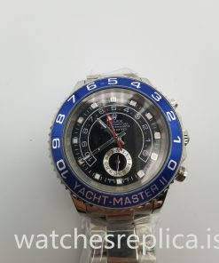 Rolex Yacht-master 116680 44mm Men's Black And Stainless Steel