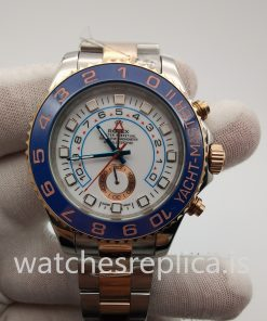 Rolex Yacht-master 116681 44mm White Baton And 316 Grade Stainless Steel