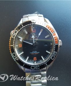 Omega Seamaster 215.30.44.21.01.002 316 Grade Stainless Steel Black Dial For Men 43.5mm Watch