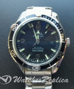 Omega Seamaster 2200.50.00 45mm Black Dial And Stainless Steel For Men Watch