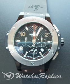 Hublot Big Bang 301.Pb.131.Rx Black Dial And Red Gold 44mm For Men Watch