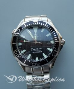 Omega Seamaster 22545000 41 Mm Stainless Steel And Black For Men Watch
