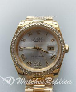 Rolex Datejust 126300 31mm Sapphire Crystal 18k Gold For Men Watch