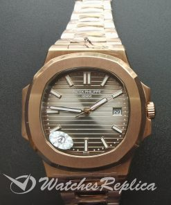 Patek Philippe Nautilus 57111r-001 40mm Rose Gold Dark Brown For Men Watch