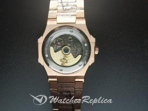 Patek Philippe Nautilus 57111r-001 40mm Rose Gold Dark Brown For Men Watch