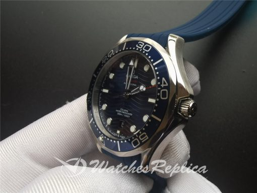 Omega Seamaster 210.32.42.20.03.001 42mm Rubber Strap And Steel For Men Watch