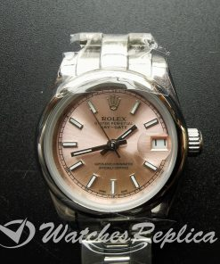 Rolex Datejust 179160 Pink Dial And Silver 26mm For Women Watch