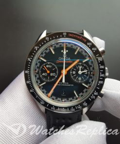 Omega Speedmaster 329.32.44.51.01.001 Leather Strap And Black 44.25mm For Men Watch