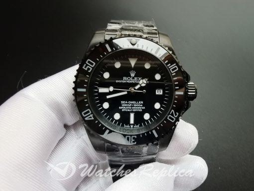 Rolex Deepsea 116660 Stainless Steel Black Dial 44mm For Men Watch