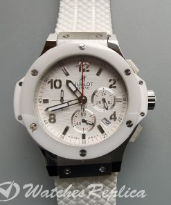 Hublot Big Bang 301.SE.230.RW.114 44mm Stainless Steel And White Dial For Men Watch