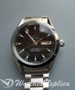 Omega Seamaster Iw371438 43mm Stainless Steel Grey Dial For Men Watch