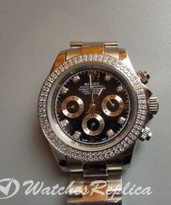 Rolex Daytona 18k Yellow Gold Swiss 316l Steel For Women Watch
