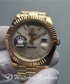 Swiss Rolex Day Date 228238 Yellow Gold Bracelet 40mm For Men Watch